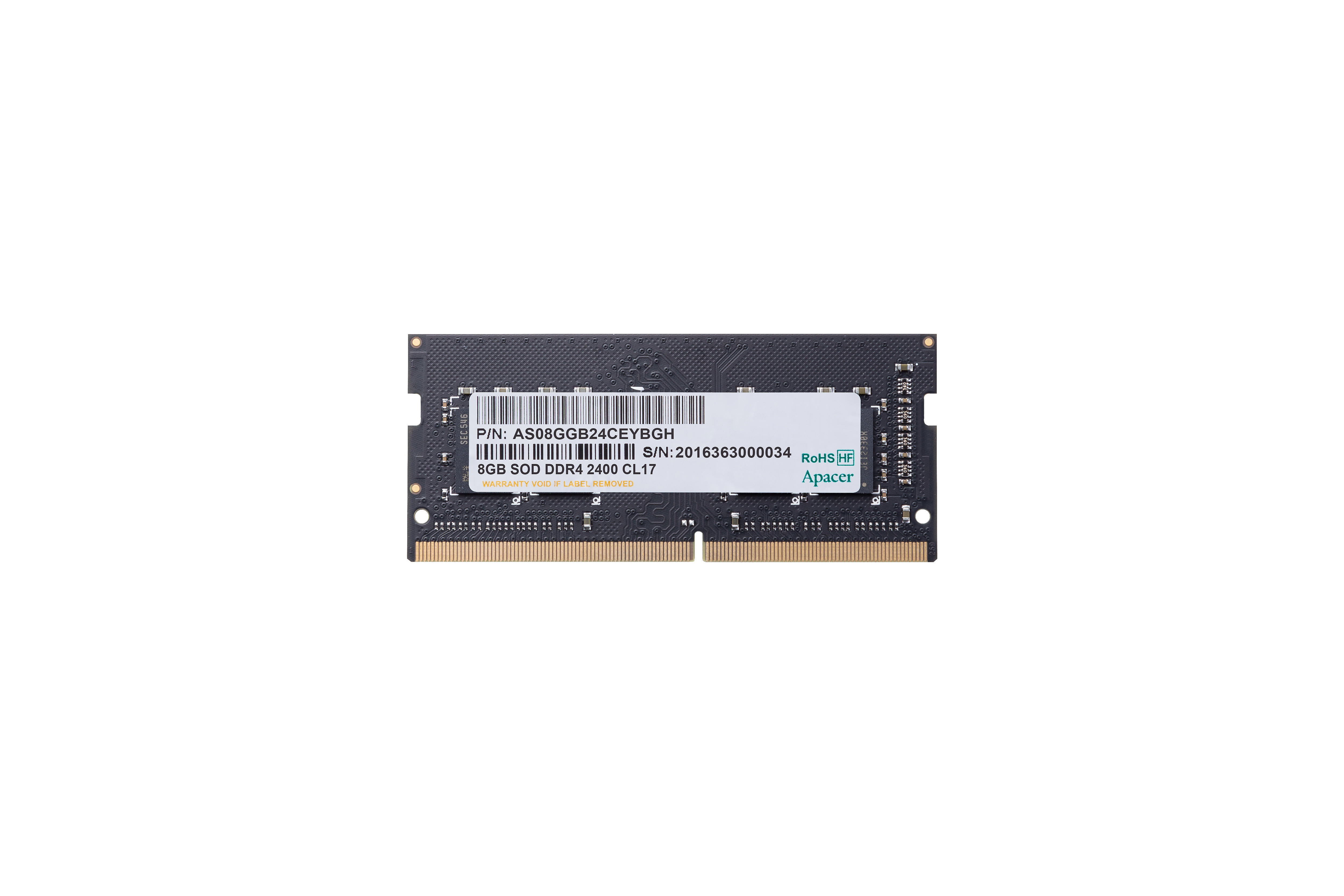 Memorie Apacer 8GB DDR4 2400MHz 1.2V CL17 0