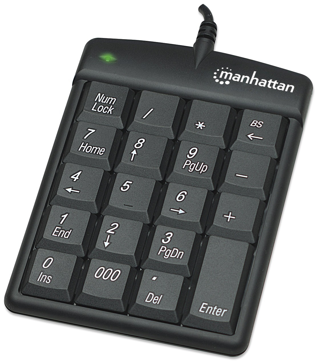 Tastatura numerica USB 2.0 176354, Manhattan